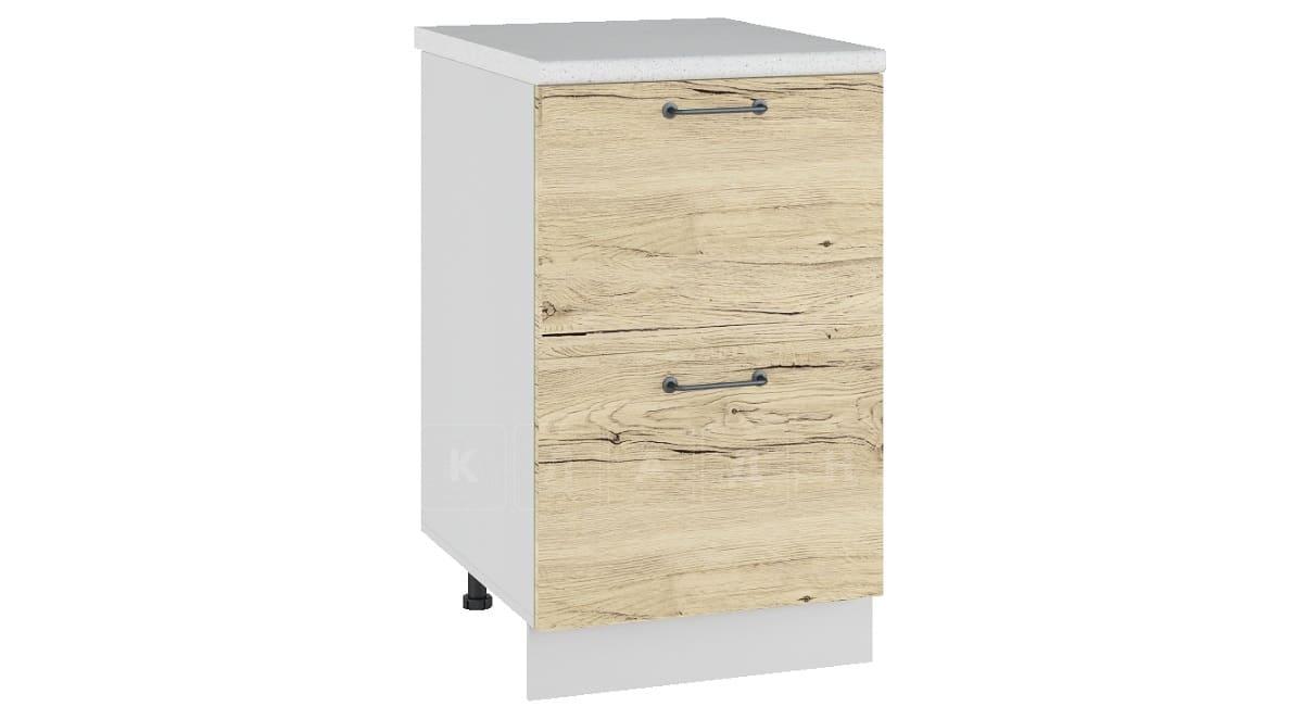 Кухонный шкаф напольный Даллас ШН2Я50 с 2 ящиками фото 1 | интернет-магазин Складно
