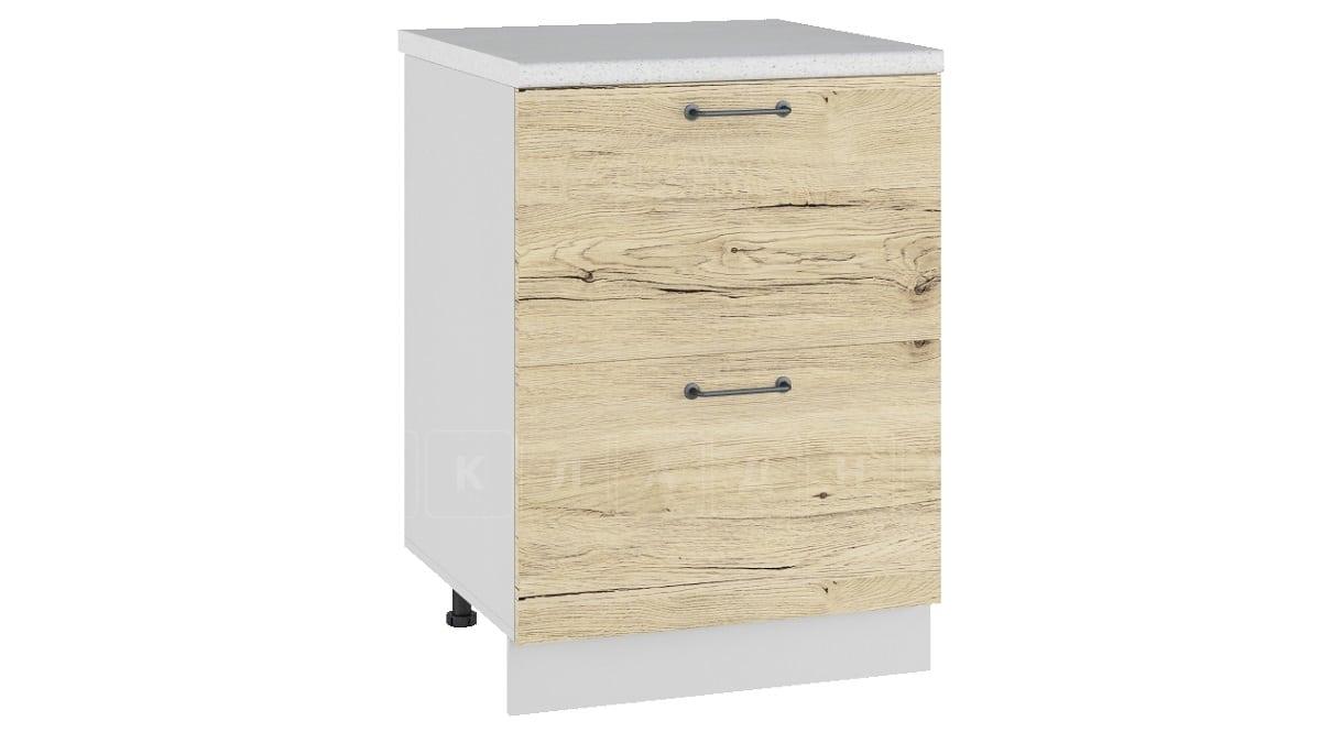 Кухонный шкаф напольный Даллас ШН2Я60 с 2 ящиками фото 1 | интернет-магазин Складно