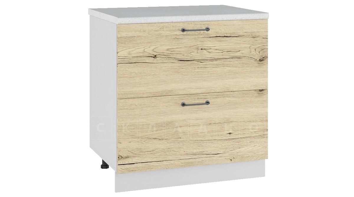 Кухонный шкаф напольный Даллас ШН2Я80 с 2 ящиками фото 1   интернет-магазин Складно