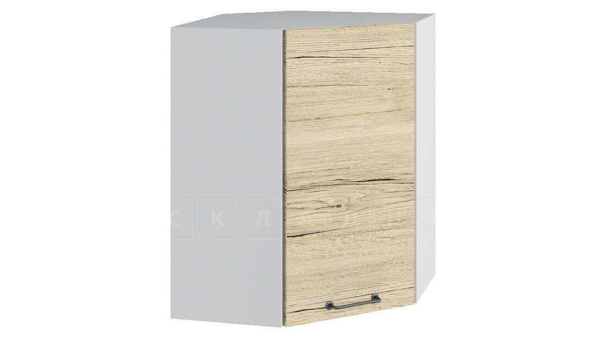 Кухонный навесной шкаф угловой Даллас ШВУ50 фото 1 | интернет-магазин Складно
