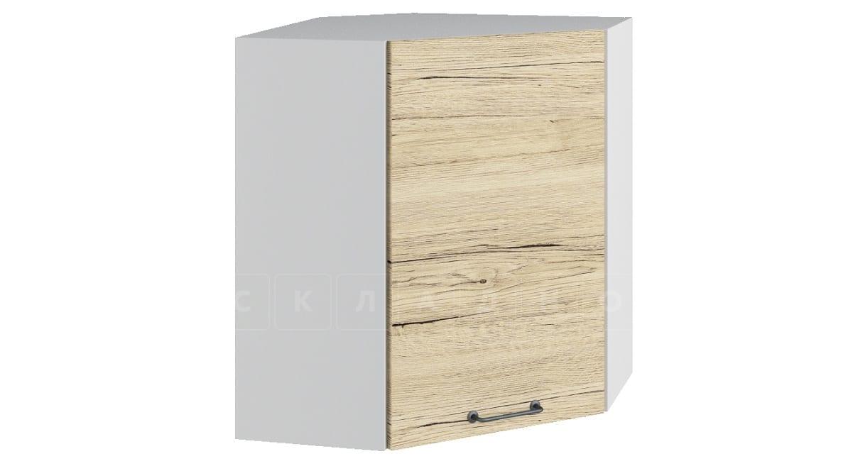 Кухонный навесной шкаф угловой Даллас ШВУ60 фото 1 | интернет-магазин Складно