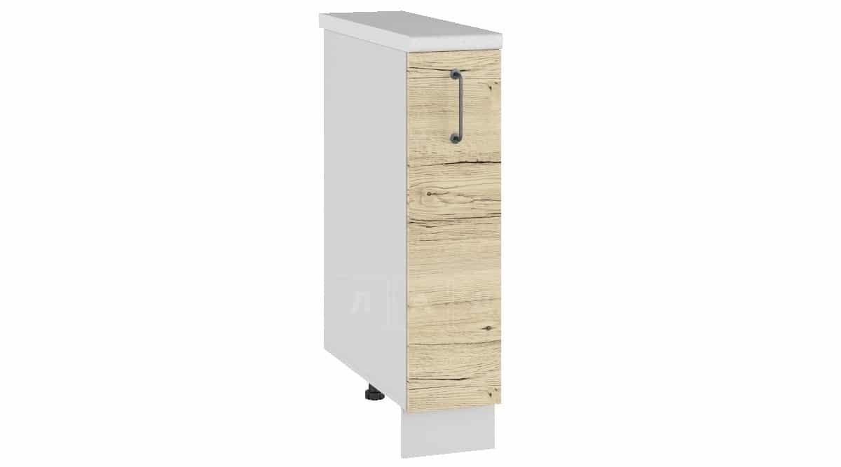 Кухонный шкаф напольный Даллас ШНБ15 бутылочница фото 1 | интернет-магазин Складно