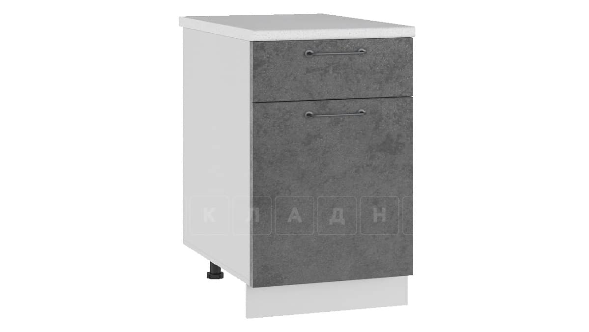 Кухонный шкаф напольный Шале ШН1Я50 с 1 ящиком фото 2 | интернет-магазин Складно
