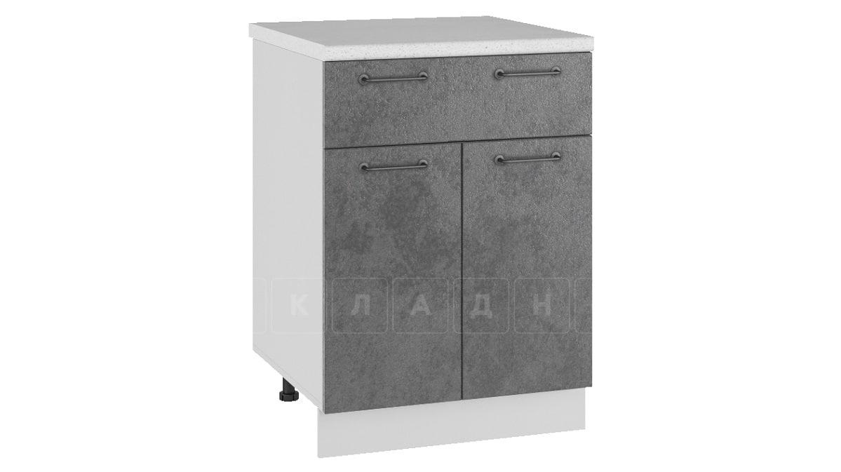 Кухонный шкаф напольный Шале ШН1Я60 с 1 ящиком фото 2 | интернет-магазин Складно
