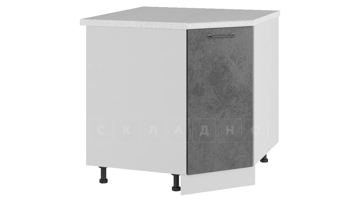 Кухонный шкаф напольный угловой Шале ШНУ80 фото 2 | интернет-магазин Складно
