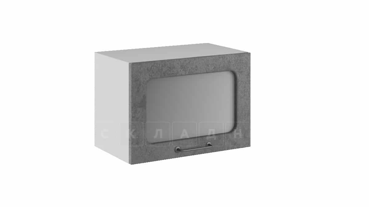 Кухонный навесной шкаф газовка со стеклом Шале ШВГС50 фото 2 | интернет-магазин Складно