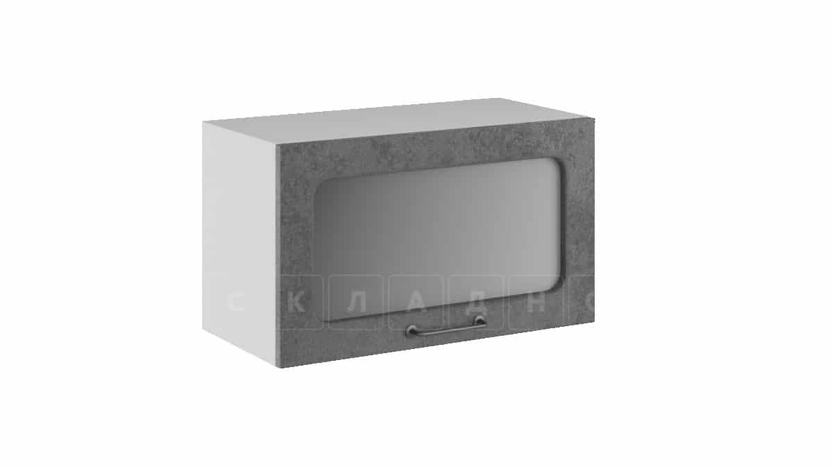Кухонный навесной шкаф газовка со стеклом Шале ШВГС60 фото 2 | интернет-магазин Складно