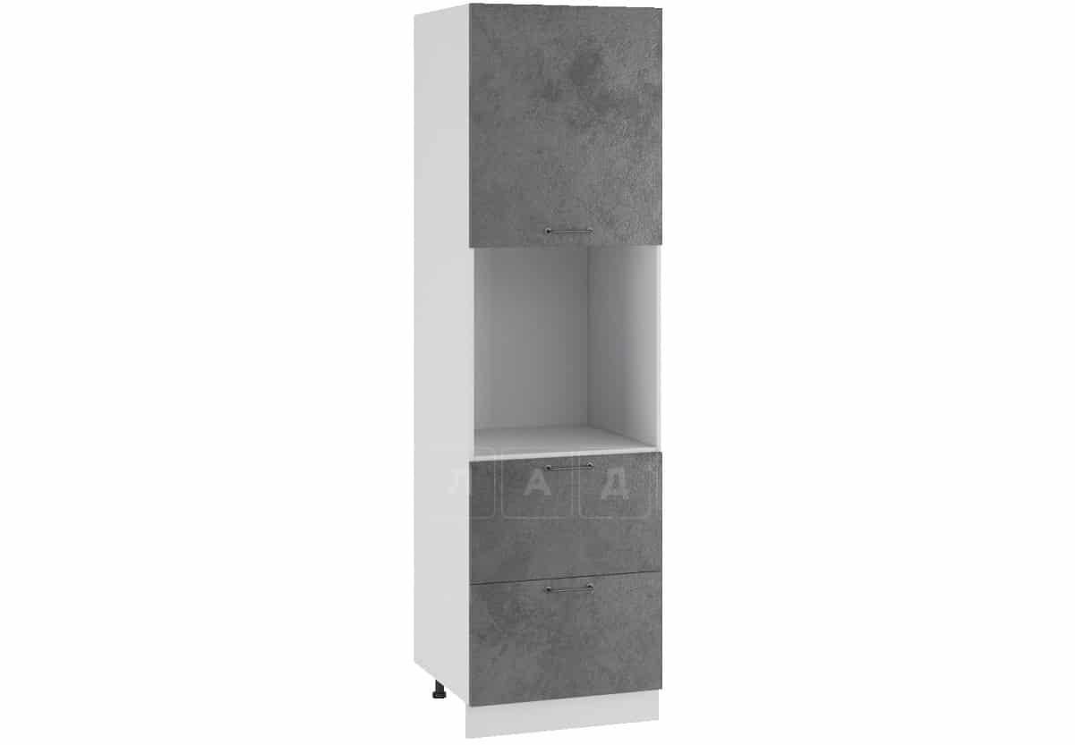 Кухонный напольный шкаф-пенал Шале ШП2Я60 с 2 ящиками фото 2   интернет-магазин Складно