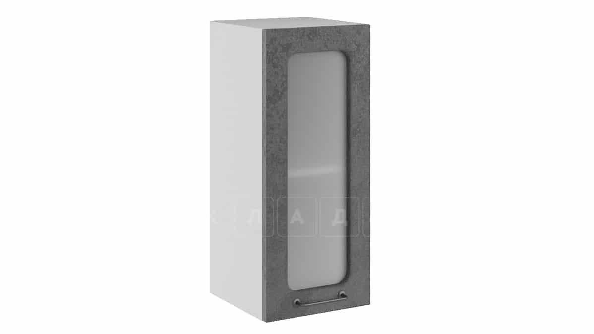 Кухонный навесной шкаф со стеклом Шале ШВС30 фото 2 | интернет-магазин Складно