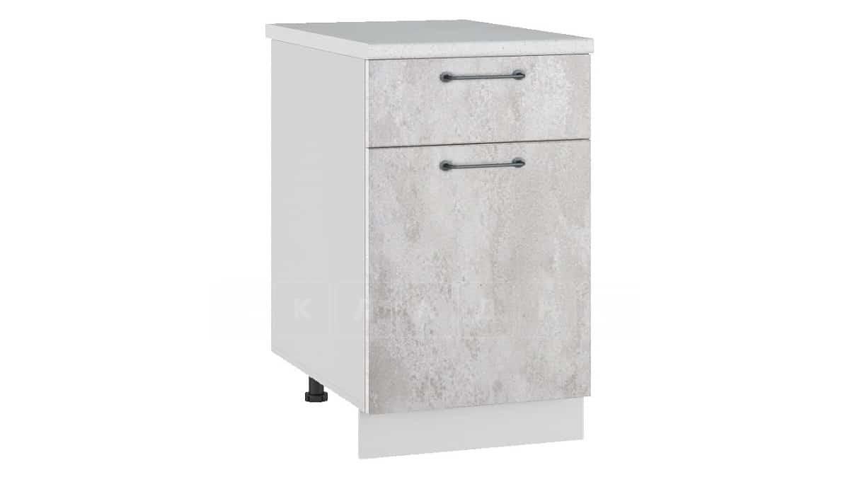 Кухонный шкаф напольный Шале ШН1Я50 с 1 ящиком фото 1 | интернет-магазин Складно