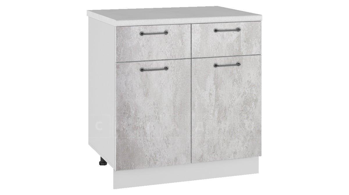 Кухонный шкаф напольный Шале ШН1/1Я80 с 2 ящиками и 2 створками фото 1 | интернет-магазин Складно