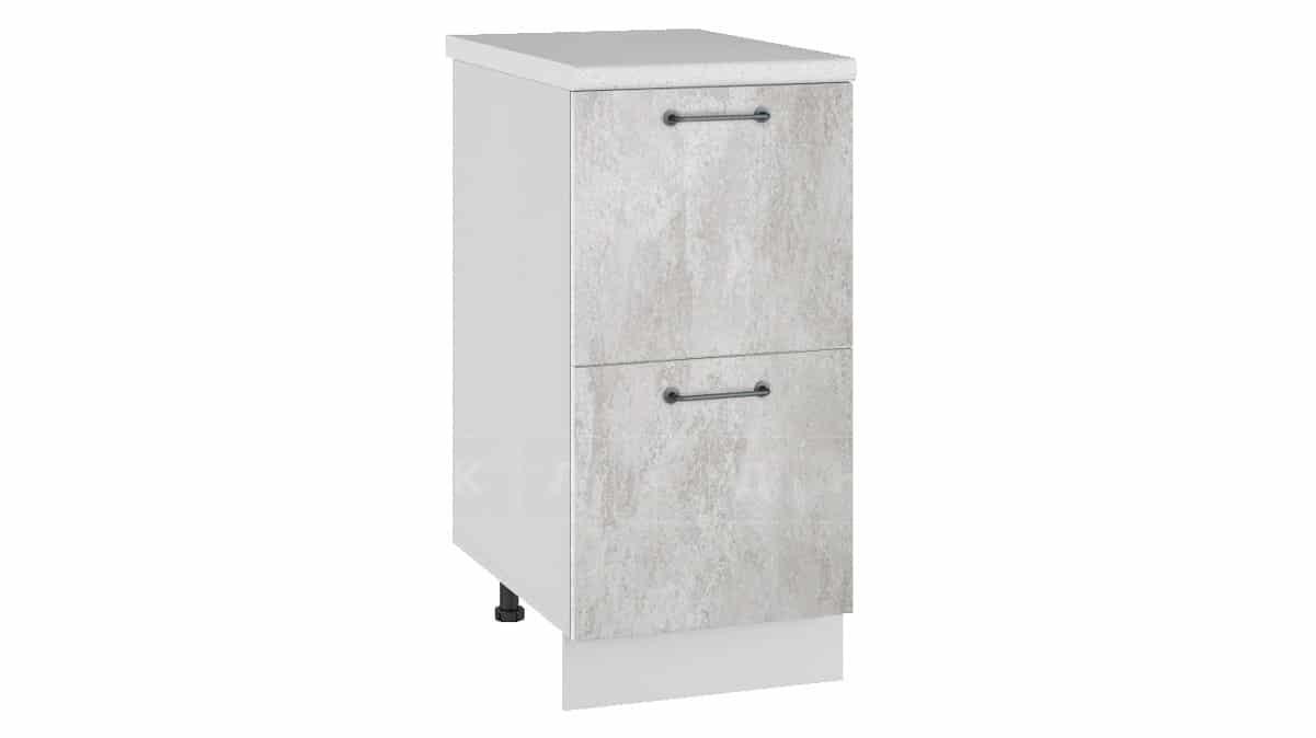 Кухонный шкаф напольный Шале ШН2Я40 с 2 ящиками фото 1   интернет-магазин Складно