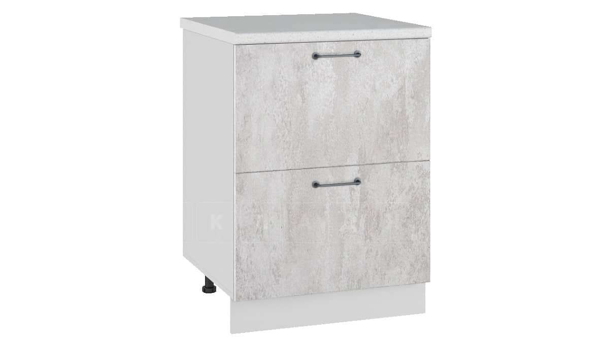 Кухонный шкаф напольный Шале ШН2Я60 с 2 ящиками фото 1 | интернет-магазин Складно