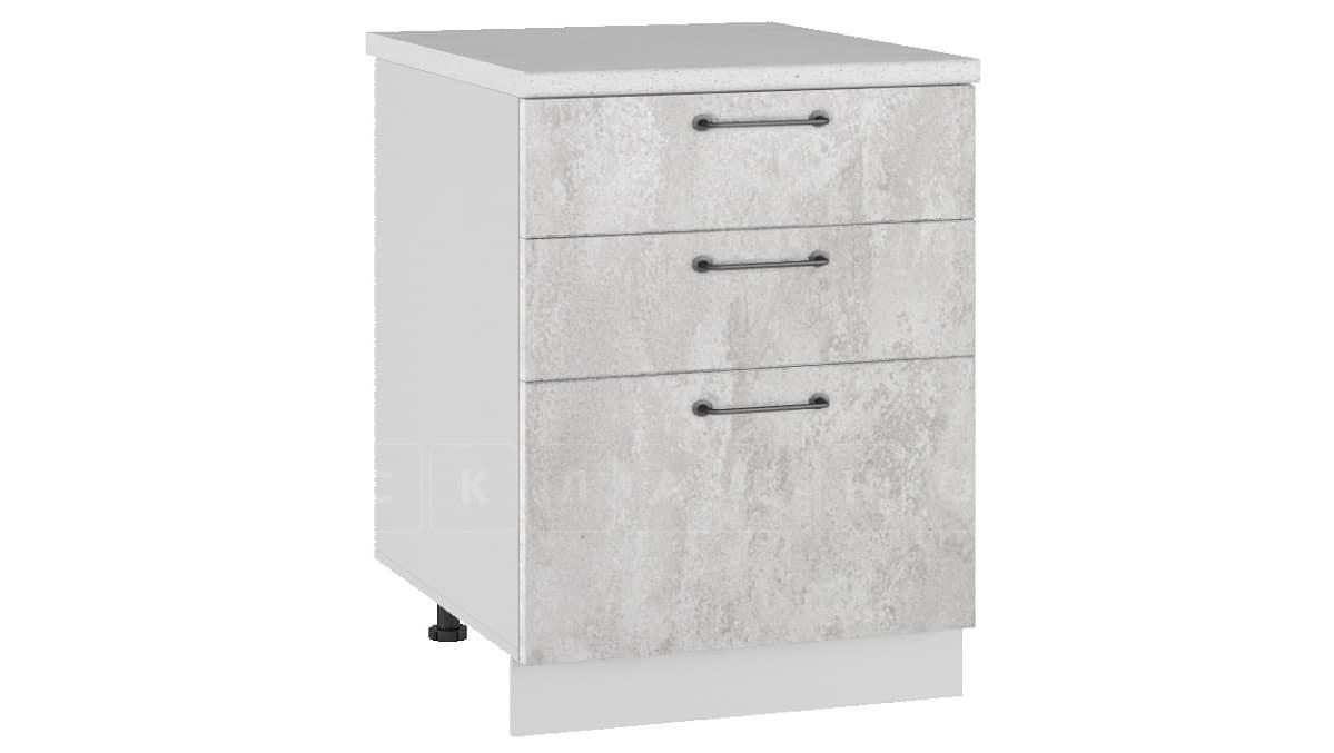 Кухонный шкаф напольный Шале ШН3Я60 с 3 ящиками фото 1 | интернет-магазин Складно