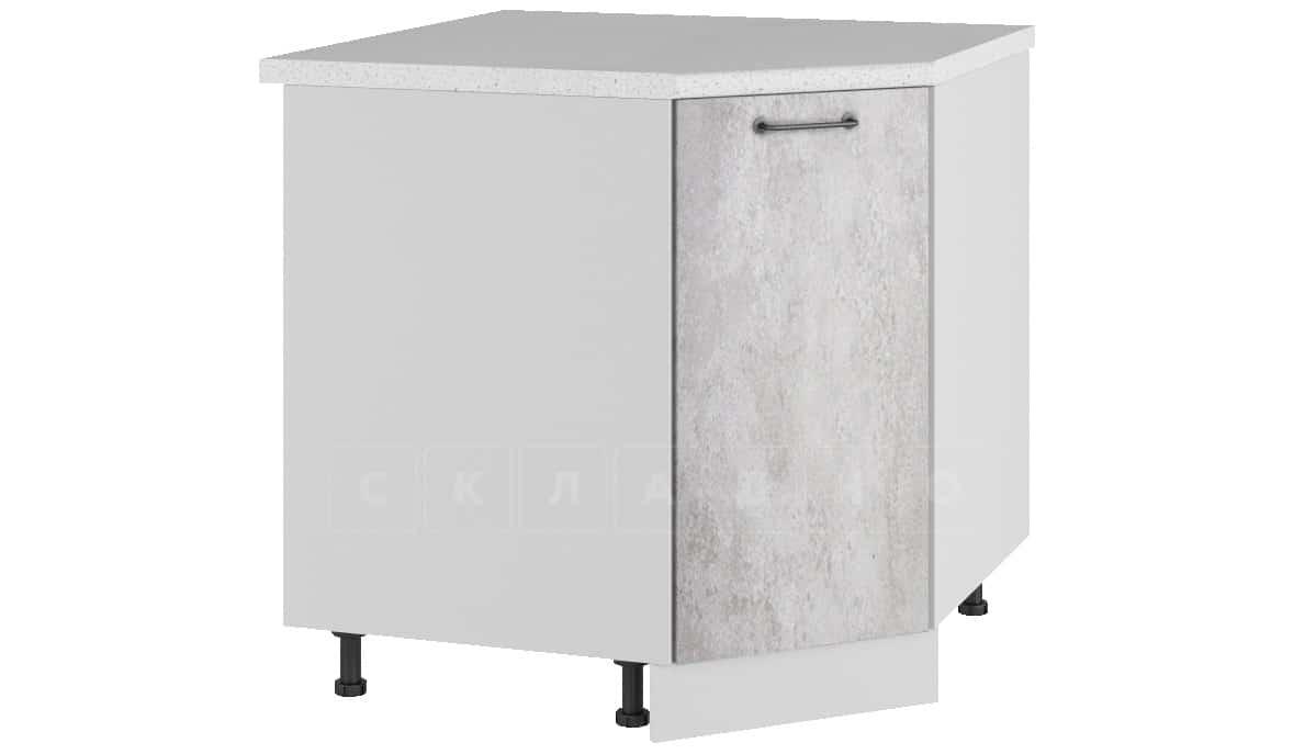 Кухонный шкаф напольный угловой Шале ШНУ80 фото 1 | интернет-магазин Складно