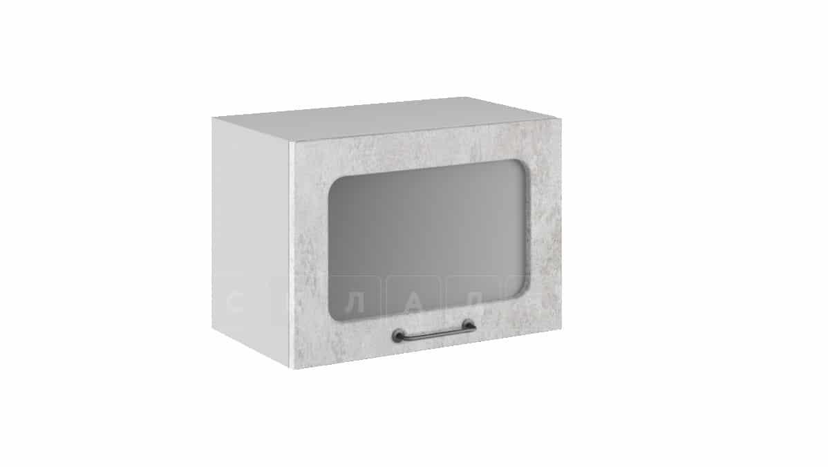 Кухонный навесной шкаф газовка со стеклом Шале ШВГС50 фото 1 | интернет-магазин Складно
