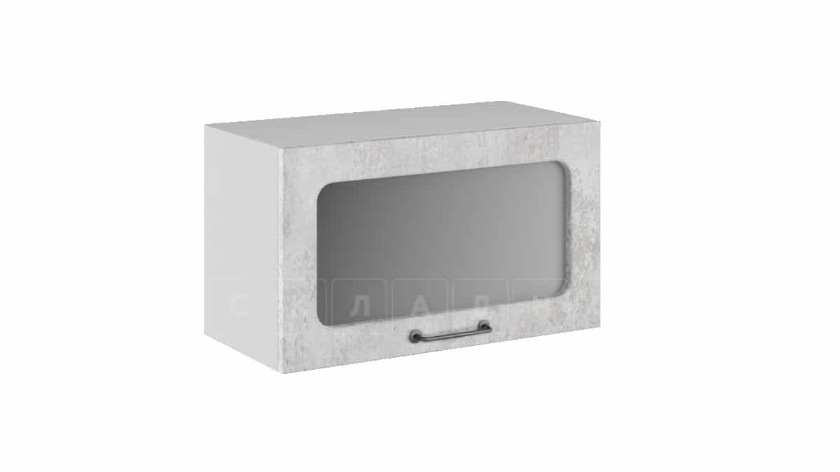 Кухонный навесной шкаф газовка со стеклом Шале ШВГС60 фото 1 | интернет-магазин Складно