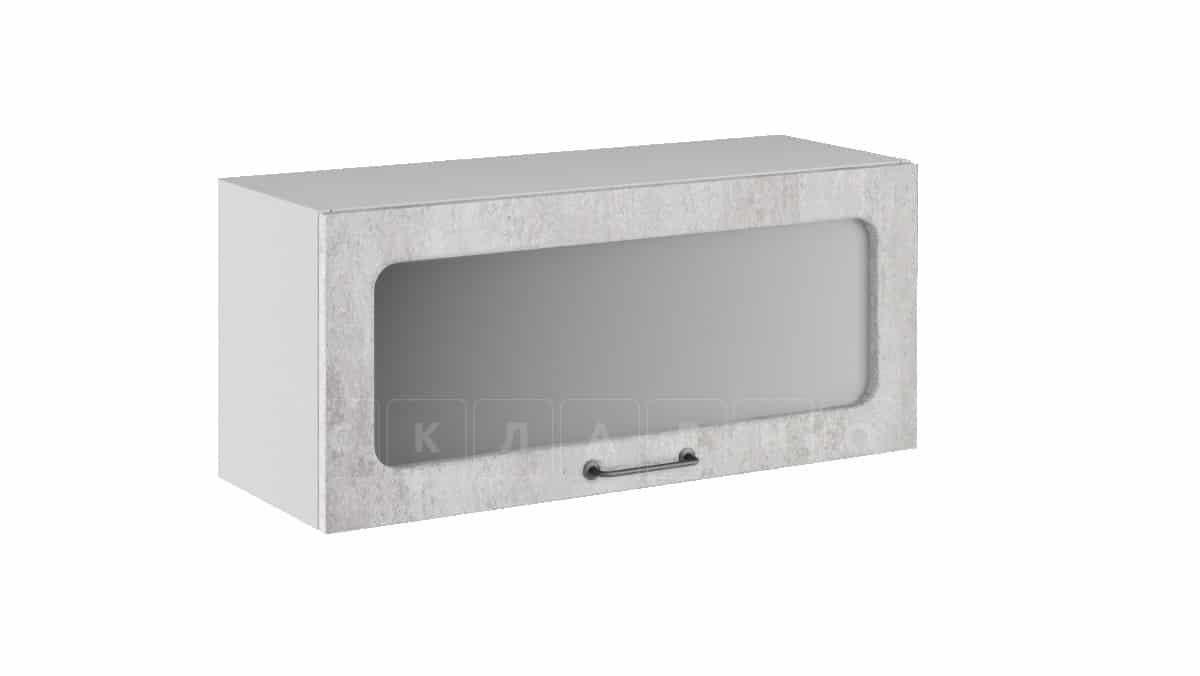 Кухонный навесной шкаф газовка со стеклом Шале ШВГС80 фото 1 | интернет-магазин Складно
