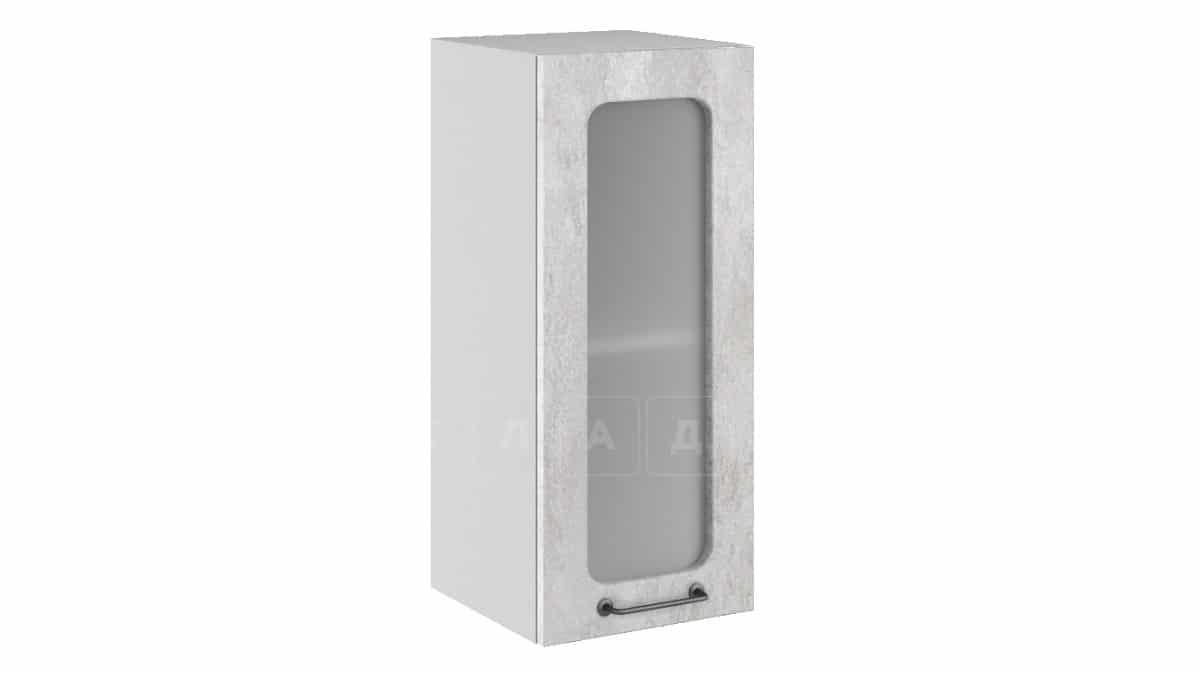 Кухонный навесной шкаф со стеклом Шале ШВС30 фото 1 | интернет-магазин Складно