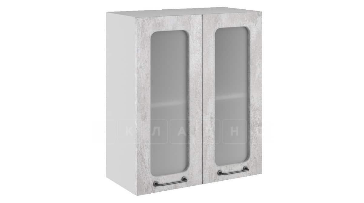 Кухонный навесной шкаф со стеклом Шале ШВС60 фото 1 | интернет-магазин Складно