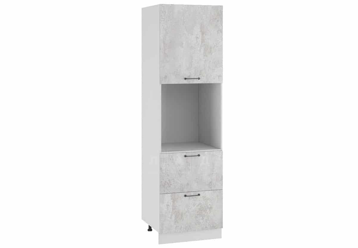 Кухонный напольный шкаф-пенал Шале ШП2Я60 с 2 ящиками фото 1   интернет-магазин Складно