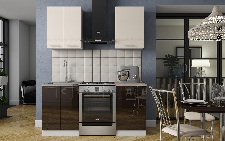 Кухонный гарнитур Шарлотта Асти 1,1 м фото 1 | интернет-магазин Складно