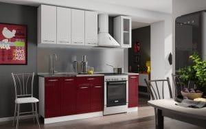 Кухонный гарнитур Шарлотта Асти 1,5 м фото | интернет-магазин Складно