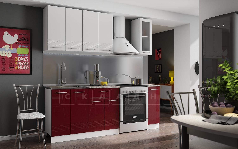 Кухонный гарнитур Шарлотта Асти 1,5 м фото 1 | интернет-магазин Складно