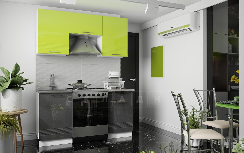 Кухонный гарнитур Шарлотта Асти 1,6 м фото 1 | интернет-магазин Складно