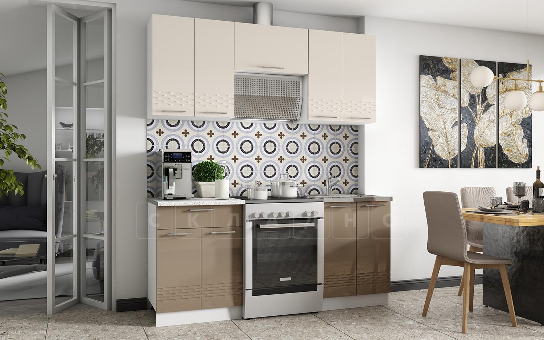Кухонный гарнитур Шарлотта Асти 1,8 м фото 1 | интернет-магазин Складно