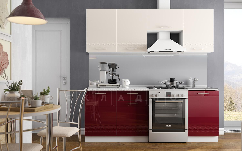 Кухонный гарнитур Шарлотта Асти 2,1 м фото 1 | интернет-магазин Складно