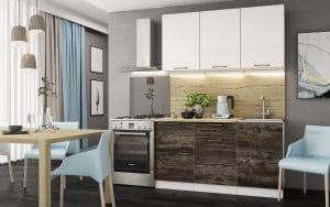 Кухонный гарнитур Даллас 1,5 м  18370  рублей, фото 1 | интернет-магазин Складно