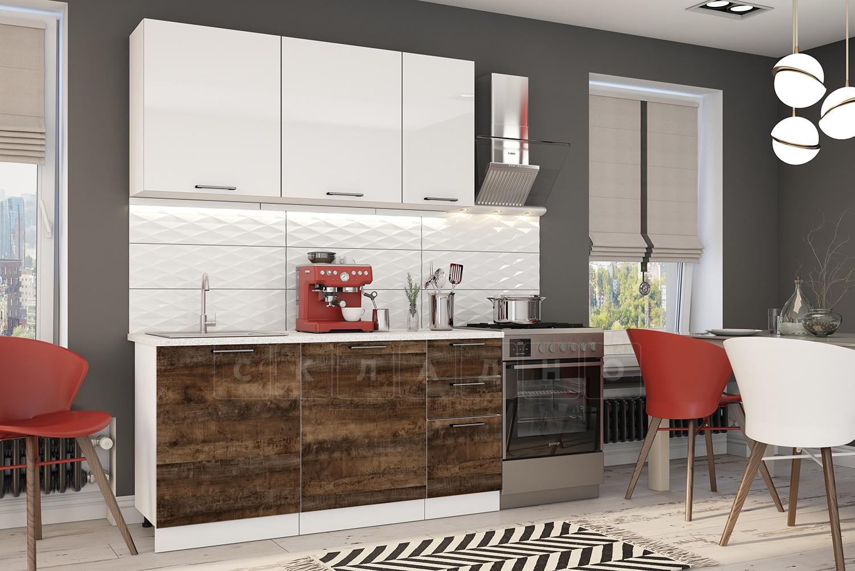 Кухонный гарнитур Даллас 1,6 м фото 1 | интернет-магазин Складно
