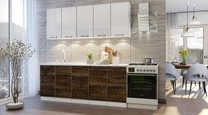 Кухонный гарнитур Даллас 2,0 м 6 модулей фото | интернет-магазин Складно