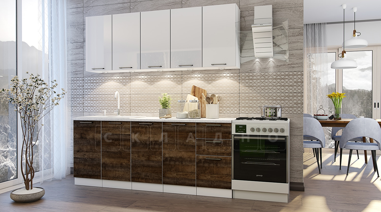 Кухонный гарнитур Даллас 2,0 м 6 модулей фото 1 | интернет-магазин Складно