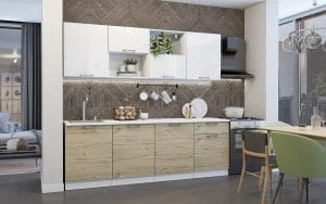 Кухонный гарнитур Даллас 2,4 м  29750  рублей, фото 1 | интернет-магазин Складно