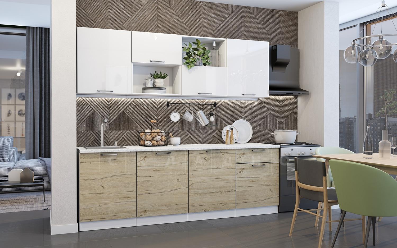 Кухонный гарнитур Даллас 2,4 м фото 1 | интернет-магазин Складно