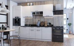 Кухонный гарнитур Даллас 2,6 м фото | интернет-магазин Складно