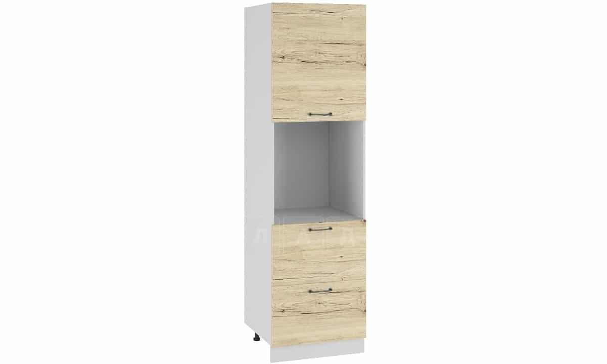 Кухонный напольный шкаф-пенал Даллас ШП2Я60 с 2 ящиками фото 1 | интернет-магазин Складно