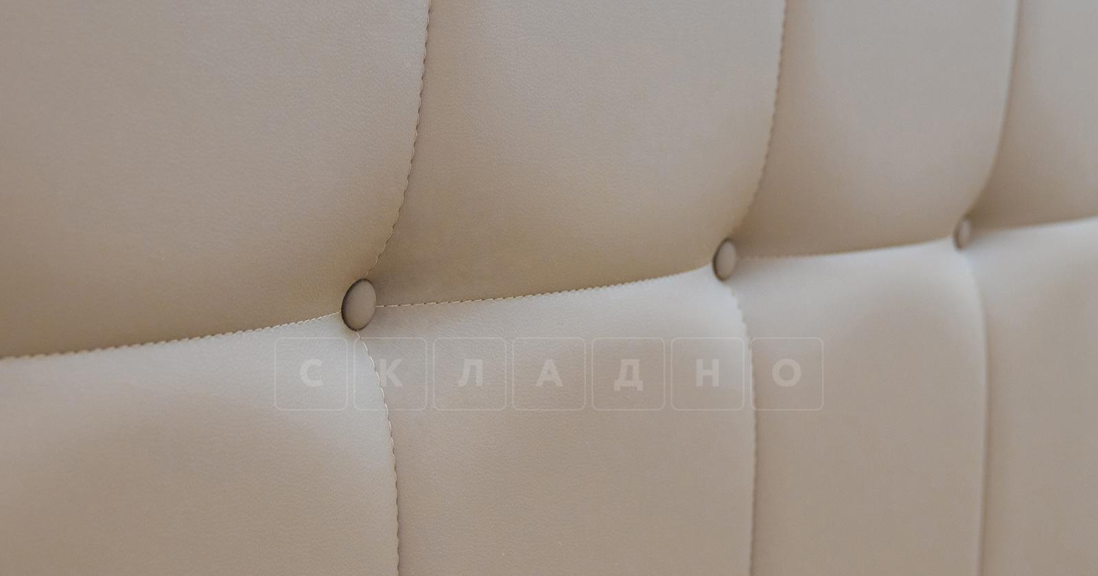 Мягкая кровать Хлоя 160 см капучино с подъемным механизмом фото 5 | интернет-магазин Складно