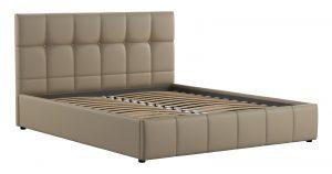 Мягкая кровать Хлоя 160 см капучино с подъемным механизмом 15950 рублей, фото 3 | интернет-магазин Складно