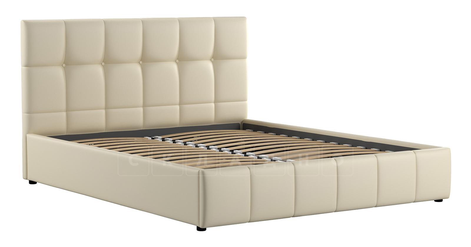 Мягкая кровать Хлоя 160 см сливочный с подъемным механизмом фото 3   интернет-магазин Складно