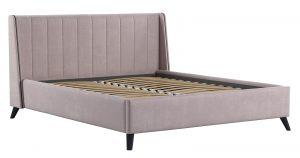Мягкая кровать Мелисса 160 см велюр ява 16790 рублей, фото 2 | интернет-магазин Складно