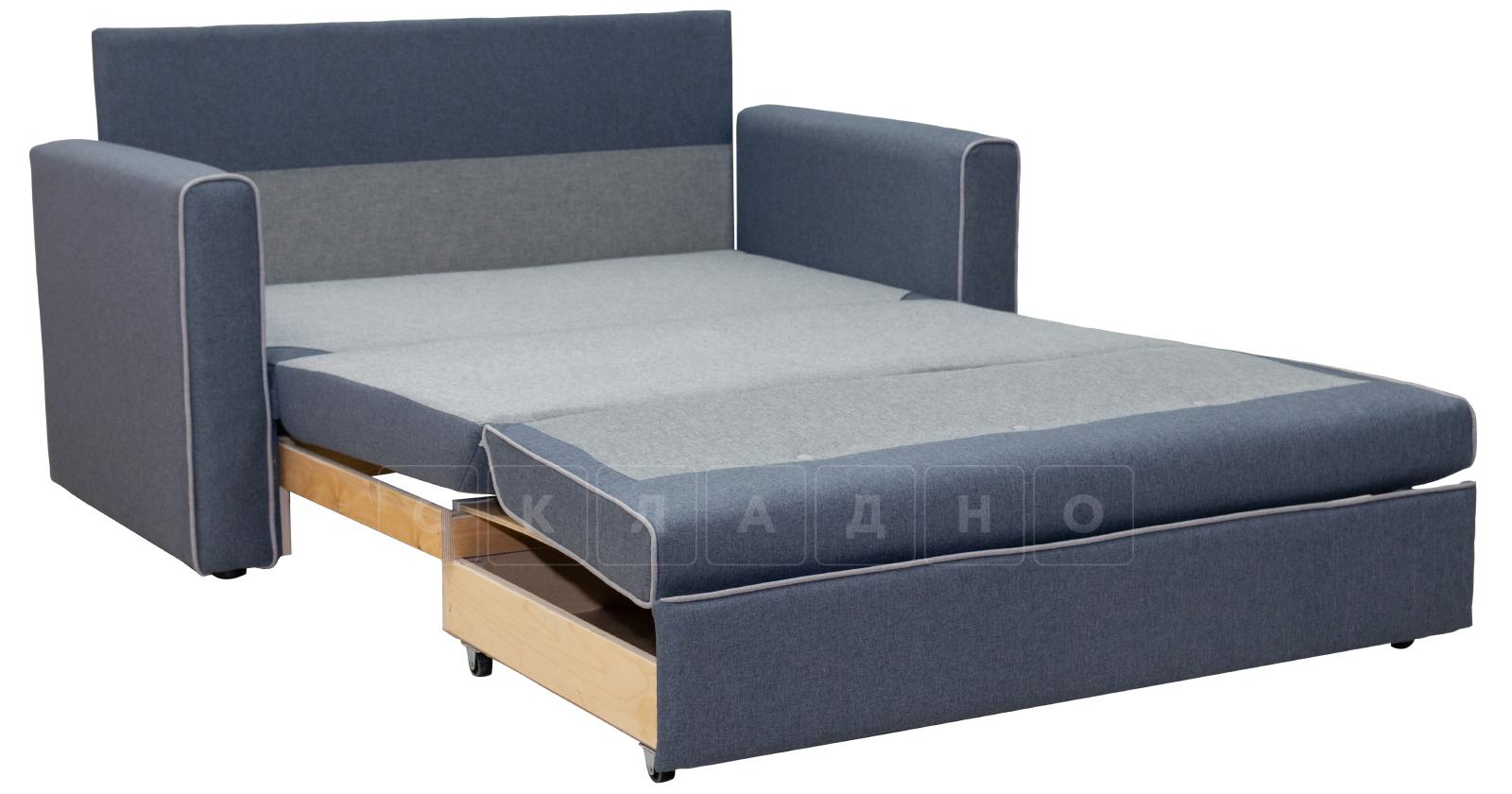 Диван-кровать Найс 120 стальной ТД 172 фото 3 | интернет-магазин Складно