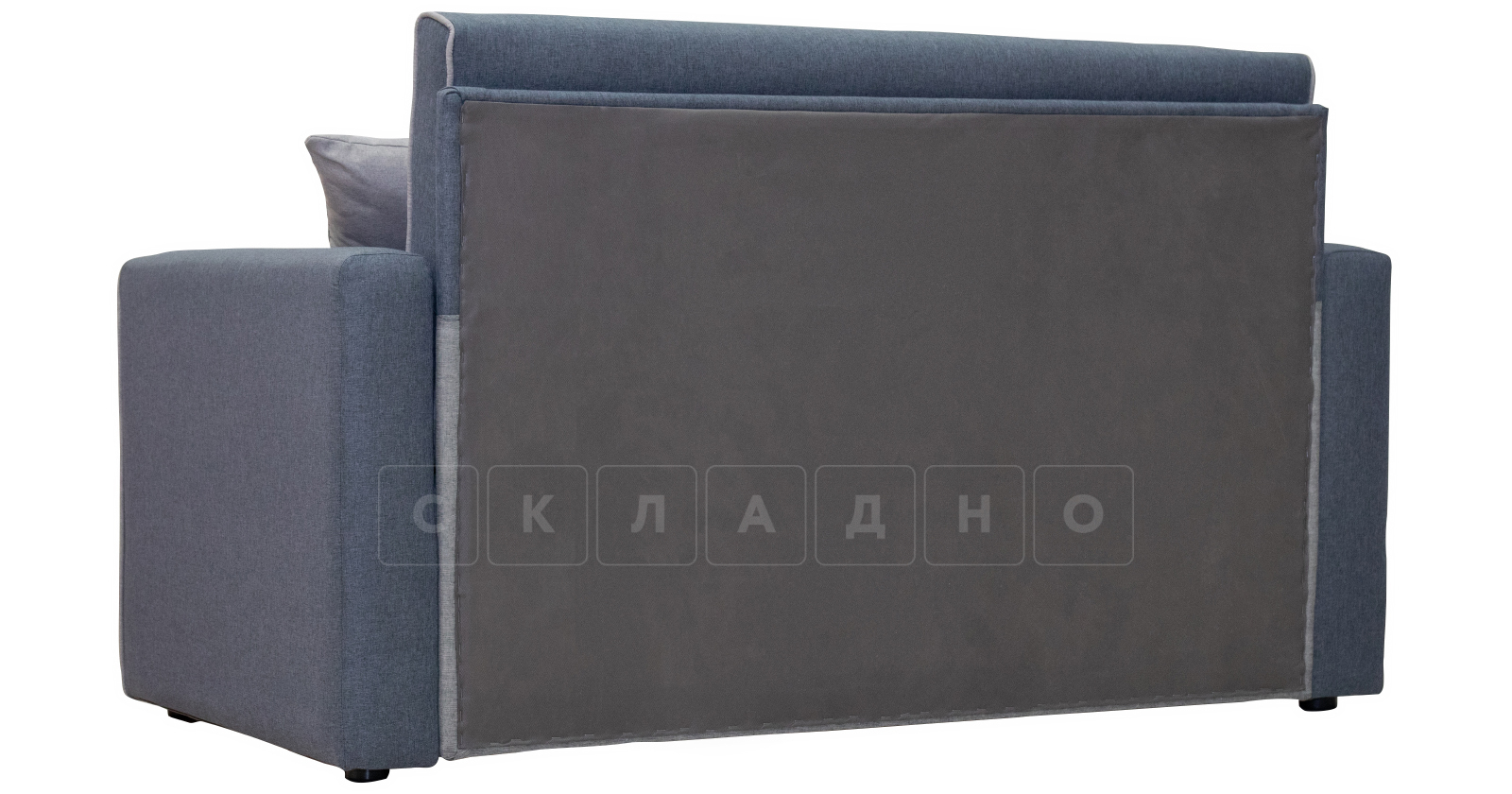 Диван-кровать Найс 120 стальной ТД 172 фото 5 | интернет-магазин Складно