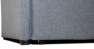 Диван-кровать с узкими подлокотниками Громит 120 серый ТД 133 23120 рублей, фото 5 | интернет-магазин Складно