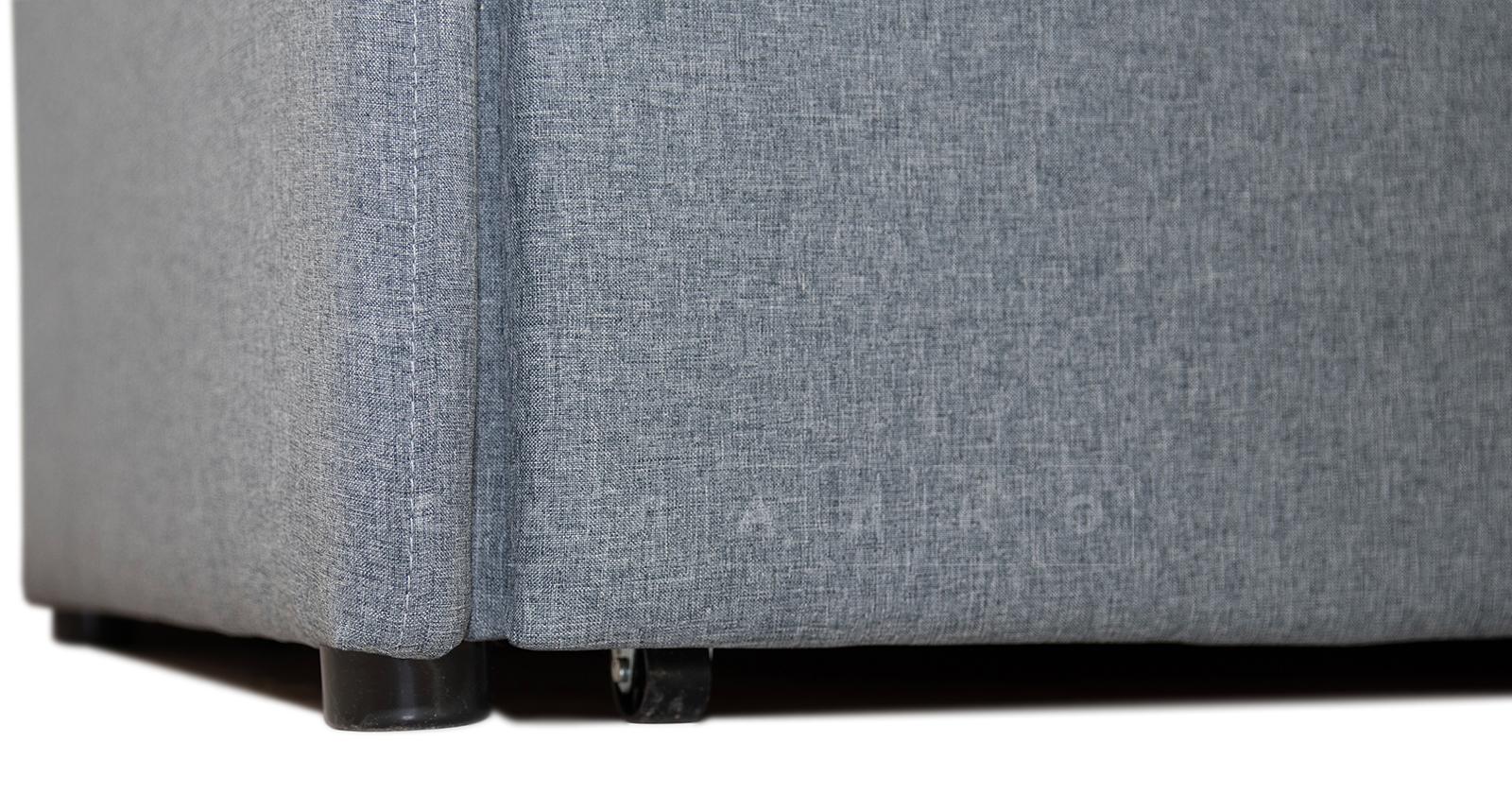 Диван-кровать с узкими подлокотниками Громит 120 серый ТД 133 фото 5 | интернет-магазин Складно