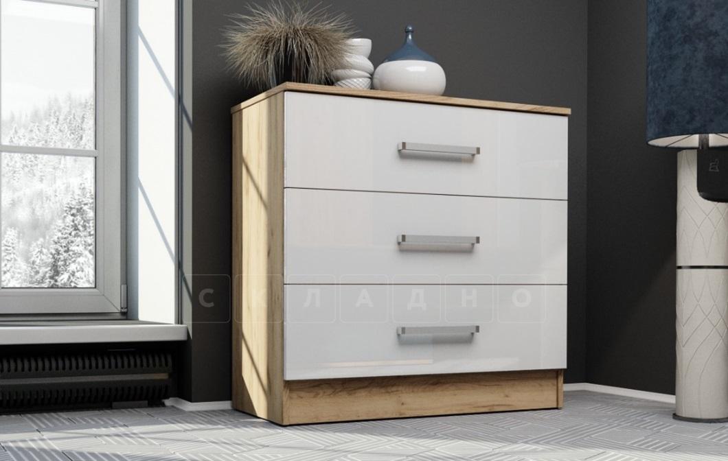 Комод Адель с 3 ящиками фото 1 | интернет-магазин Складно