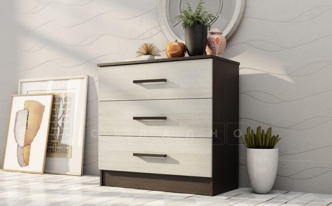 Комод Адель с 3 ящиками фото 3 | интернет-магазин Складно