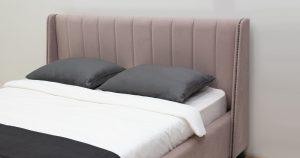 Мягкая кровать Мелисса 160 см велюр ява 16790 рублей, фото 6 | интернет-магазин Складно